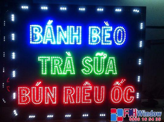 báo giá mẫu biển hiệu quảng cáo đèn led tại Đà Nẵng, Huế, Hội An, Quảng Nam, Quảng Ngãi, Quảng Trị, Quảng Bình..