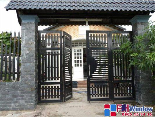 Mẫu Cửa Cổng Sắt Đẹp tại Đầ Nẵng, Huế, Hội An, Quảng Nam, Quảng Trị, Hà Tĩnh, Quảng Ngãi, Quảng Bình
